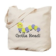 Bookworm Gotta Read Tote Bag