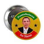 Rastafarians for Obama campaign button