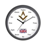 Masonic UK Wall Clock