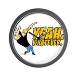 Johnny Bravo Yeah Whatever Wall Clock