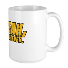 Johnny Bravo Yeah Whatever Large Mug