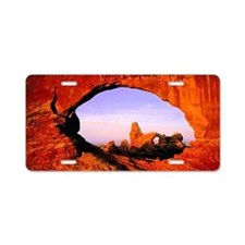 Arches National Park Aluminum License Plate