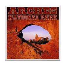 Arches National Park Tile Coaster