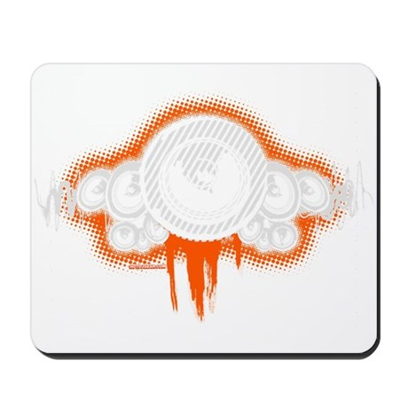 Speaker Waves Mousepad