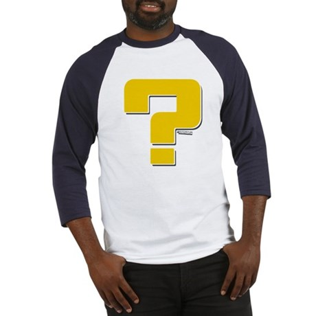 Question Mark Baseball Jersey