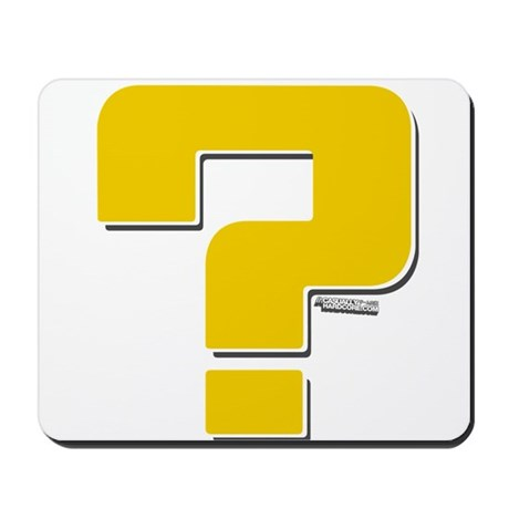 Question Mark Mousepad