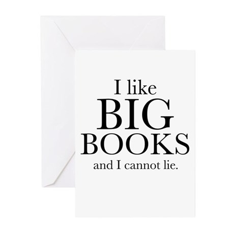 I LIke Big Books Greeting Cards (Pk of 10)