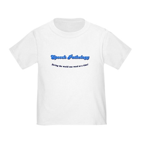 Speech Pathology Toddler T-Shirt