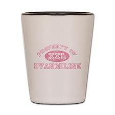 Property of Evangeline Shot Glass