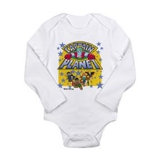 Captain Planet and Planeteers Long Sleeve Infant B
