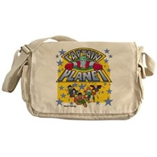 Captain Planet and Planeteers Messenger Bag