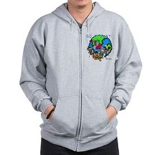 Captain Planet GO PLANET Zip Hoodie