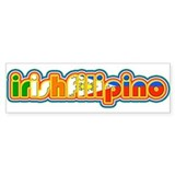 IrishFilipino Car Sticker