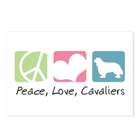 Peace, Love, Cavaliers Postcards (Package of 8)