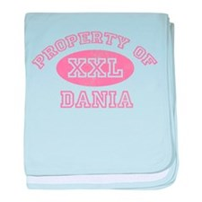 Property of Dania baby blanket