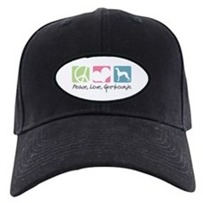 Peace, Love, Greyhounds Baseball Hat
