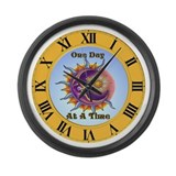 Unique Recovery slogans Large Wall Clock