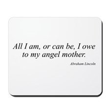 Abraham Lincoln quote 2 Mousepad