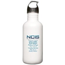 NCIS Characters Sports Water Bottle