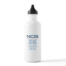 NCIS Characters Water Bottle
