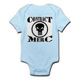 Contract Merc Skull Infant Bodysuit