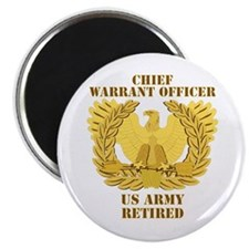 Army - Emblem - CWO Retired Magnet