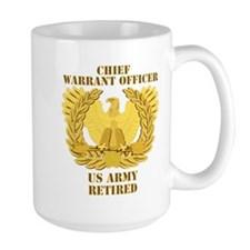 Army - Emblem - CWO Retired Mug