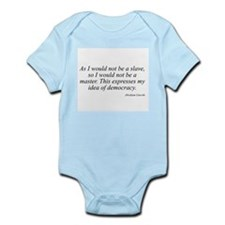 Abraham Lincoln quote 10 Infant Creeper