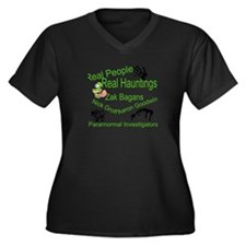 Everything Paranormal Women's Plus Size V-Neck Dar