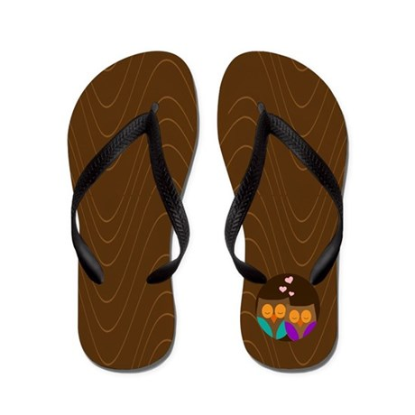 I love you owlways Flip Flops