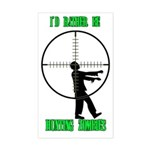 Zombie Hunter, 2012, Sticker (Rectangle)
