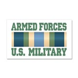 US Military Service Ribbon Car Magnet 20 x 12