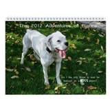 Bianca, the White Boxer Wall Calendar