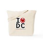 I hate DC Tote Bag