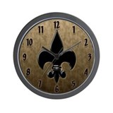 Saint Fleur De Lis Wall Clock