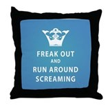 Cute Keep calm Throw Pillow