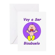 Voy a Ser Bisabuelo Greeting Cards (Pk of 10)