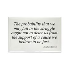 Abraham Lincoln quote 98 Rectangle Magnet