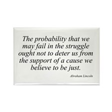 Abraham Lincoln quote 99 Rectangle Magnet