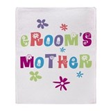 Happy Mother of the Groom Throw Blanket
