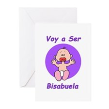 Voy a Ser Bisabuela Greeting Cards (Pk of 10)