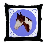 Paint Horse Throw Pillow