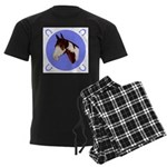 Paint Horse Men's Dark Pajamas