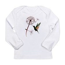 Dandelion and Little Green Hu Long Sleeve Infant T