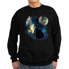 New Wolfs moon 2 Fractal Sweatshirt