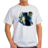 New Wolfs moon 2 Fractal T-Shirt