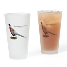 Ring-Necked Pheasant Drinking Glass