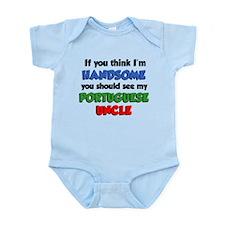 Handsome Portuguese Uncle Infant Bodysuit