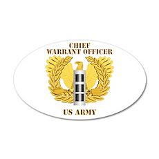 Army - Emblem - Warrant Officer CW3 38.5 x 24.5 Ov