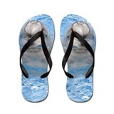 Helaine's Dolphin Flip Flops